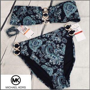 Michael Michael Kors Ladies 2 piece Bikini Set NWT